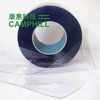 Antistatic Transparent PVC Curtain Roll/ 2mm Clear ESD PVC Sheet