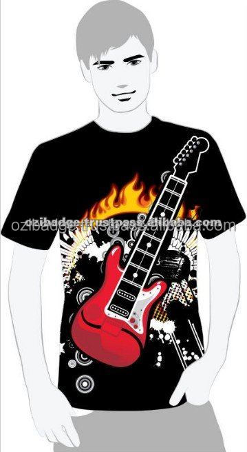 Playable Electric Guitar Shirt