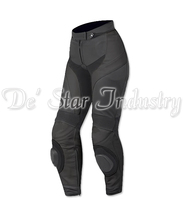 Cow Leather Motor Biker Adults Pants