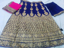 Beautiful Burgundy Bridal Lehenga Designer Indian Wedding Dress