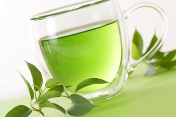 Chinese green tea available