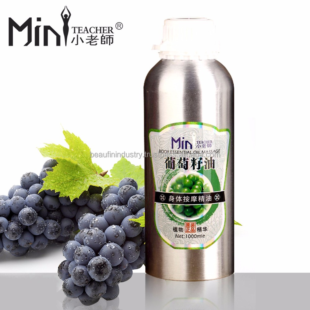OEM Supply Direct Manufacturer Basic Aluminum Bottle Wheat Germ Relax Massage Oil For Salon Use