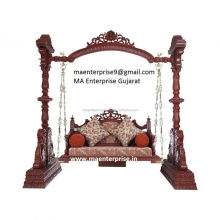 Indian Wooden Indoor Swing For Adults