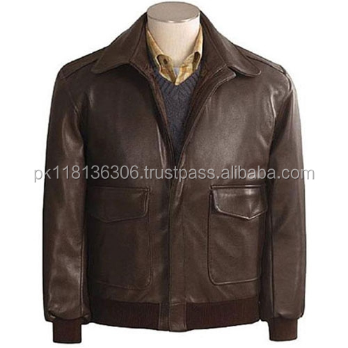PU branded men's PU leather jacket--zipper jacket nice look