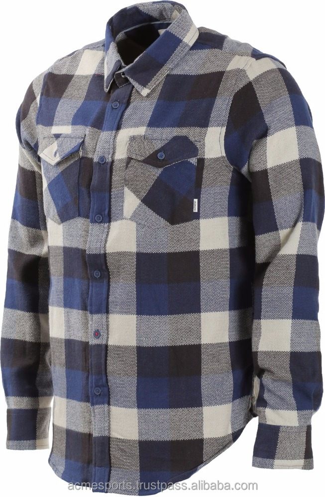 flannel shirts - Flannel shirt without hood/Custom flannel shirt