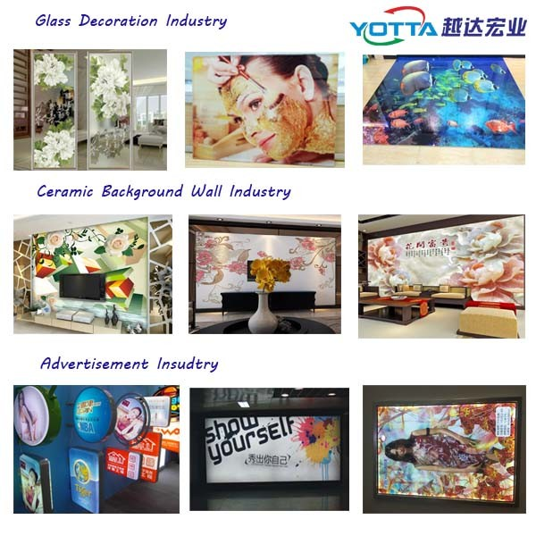 Large format digital ceramic tile uv printing machine