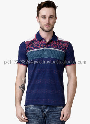 2016 high quality low price customized stylish men's casual blank cotton polo T Shirt/2014 mens fashion stripe polo t shirt