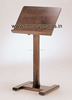 Wooden Table Top Menu Holders & display names & information of venue, hall, auditorium, occasion, wedding couple & host's names