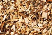 Wood chips for sale .