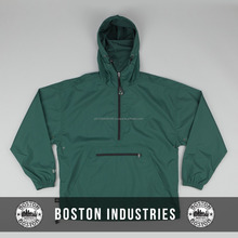Nylon New Fashion Lightweight Windbreaker Coach Jacket Green Pullover Windbreaker