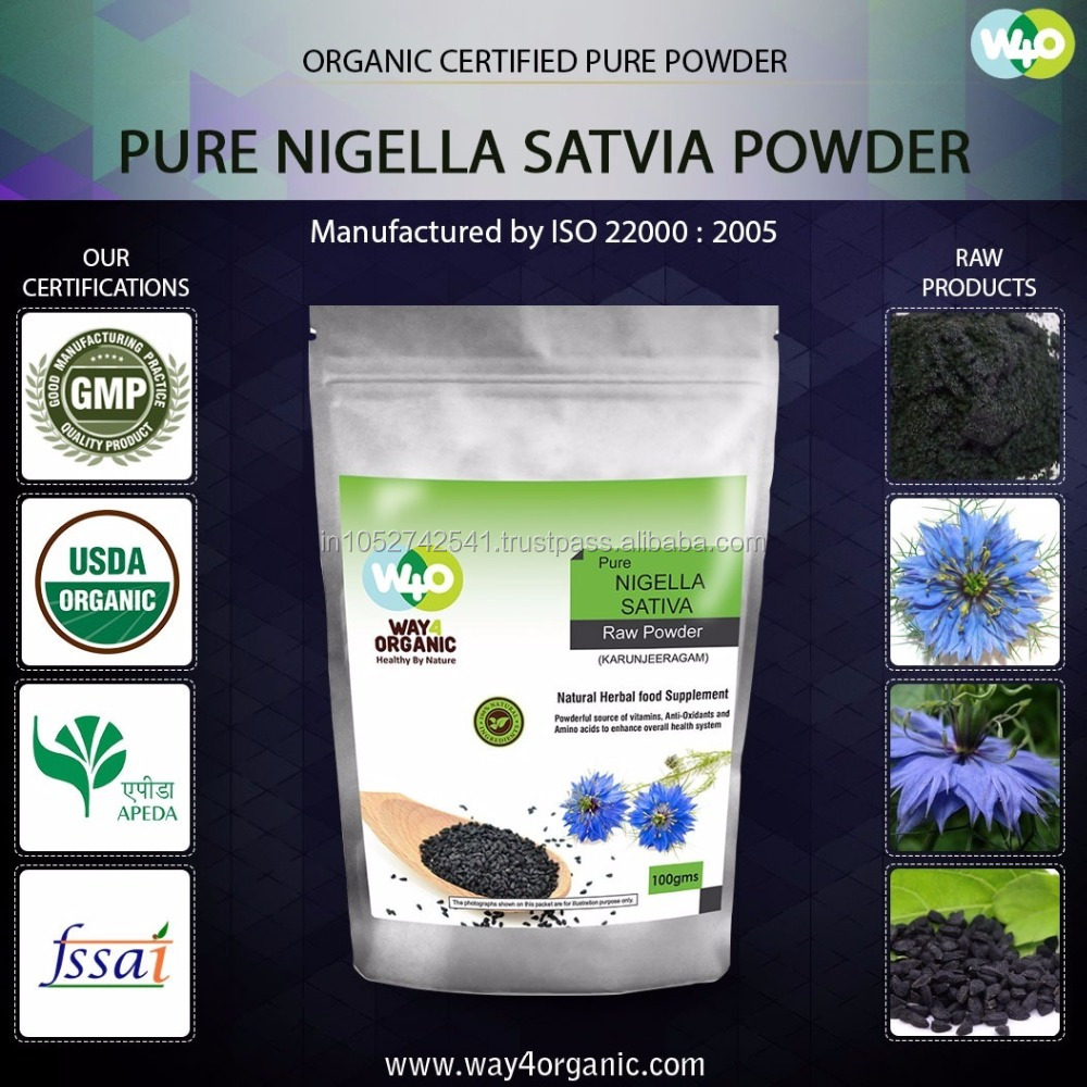 High Quality Nigella Sativa Powder For Export