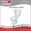 Ceramic Sanitary Ware Bathroom Floor Mounted Two Piece Water Closet WC Toilet