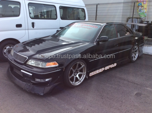 JAPANESE USED CARS FROM JAPAN TOYOTA MARK II E-JZX100 1997 MT IN GOOD CONDITION