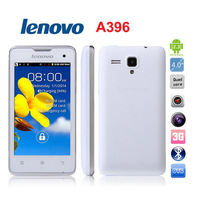 Lenovo A396 4.0 inch 3G Android 2.3 Smart Phone - White