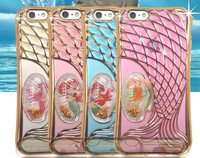 Mermaid Designed Model Phone 6S 5S 6Plus