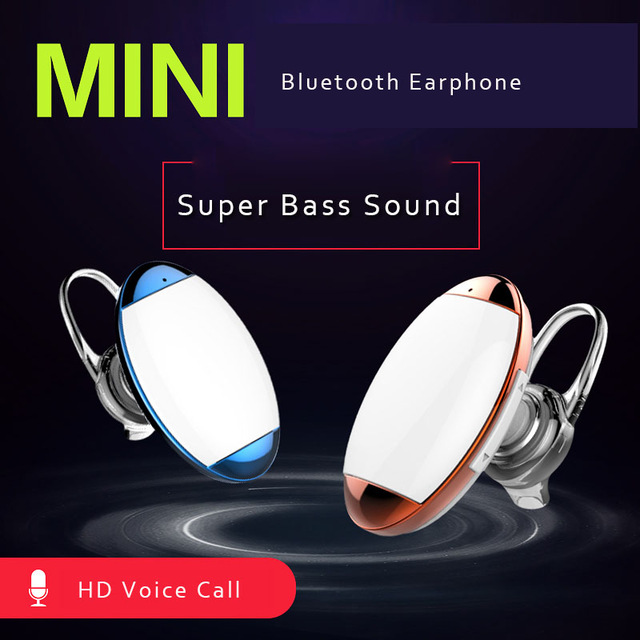 2016 best stylish bluetooth mini wireless headset stereo headphone,super mini & micro bluetooth earphone in-ear