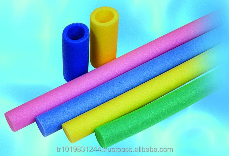 Colorful/high quality custom design epe foam packaging tube