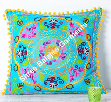 Cushion cover Suzani hand embroidery