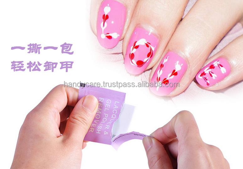 Nail Wipes, - Customizable ( Factory Direct )
