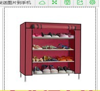 Large capacity free standing free standing rack business outdoor shoe stand rack