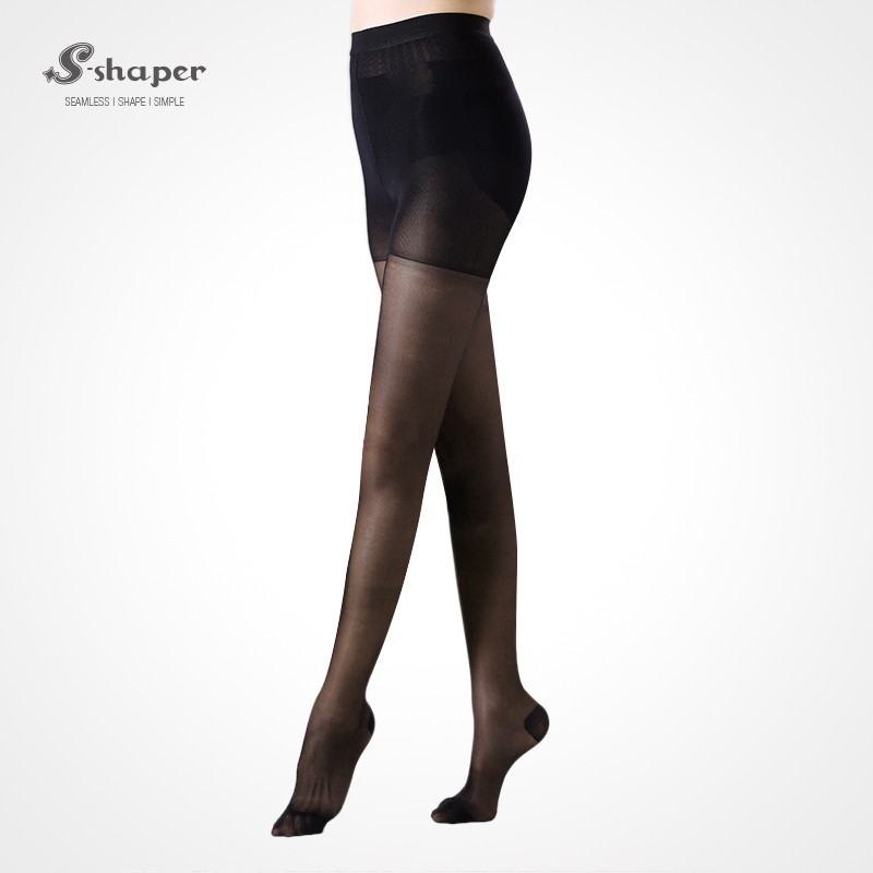 S-SHAPER Customize Medical Compression Stocking Top Slim Slimming Leggings OEM/ODM Tights With Box Packaging