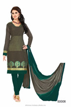 Banarasi straight cut style salwar suits