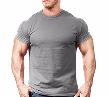 Cotton / Lycra Superhero workout t-shirt and gym clothing IM.2065