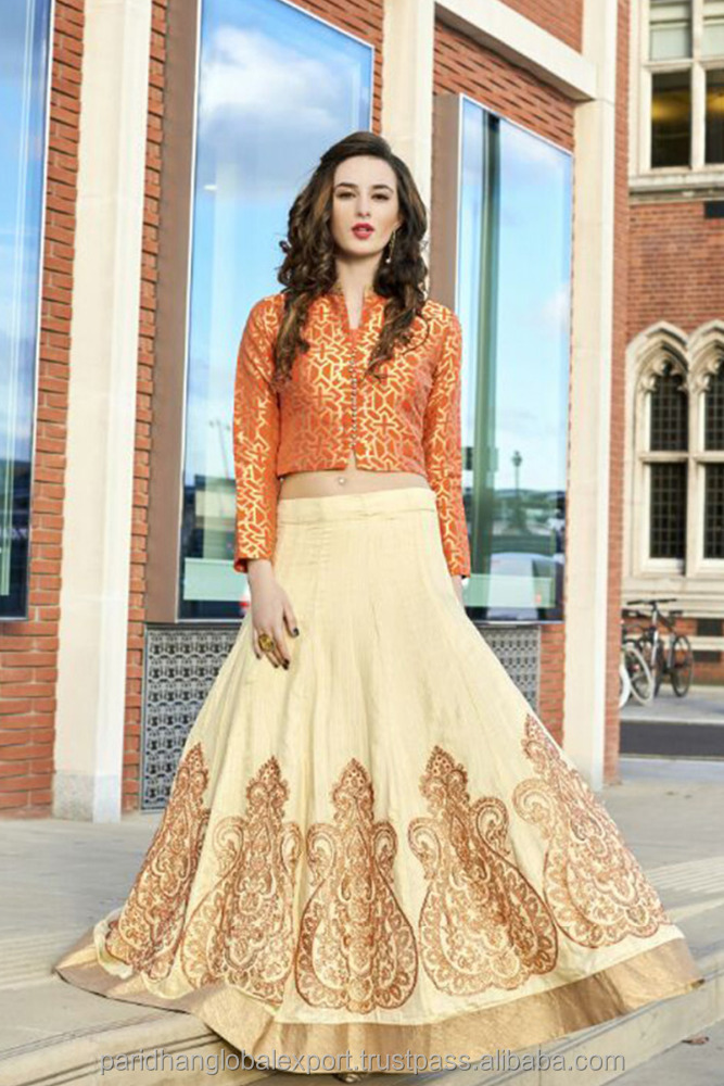 Silk Fabric Salwar Kameez Embroidered Long Length Unstitched Salwar Suit Wholesale Anarkali Salwar Kameez Catalogue Supplier