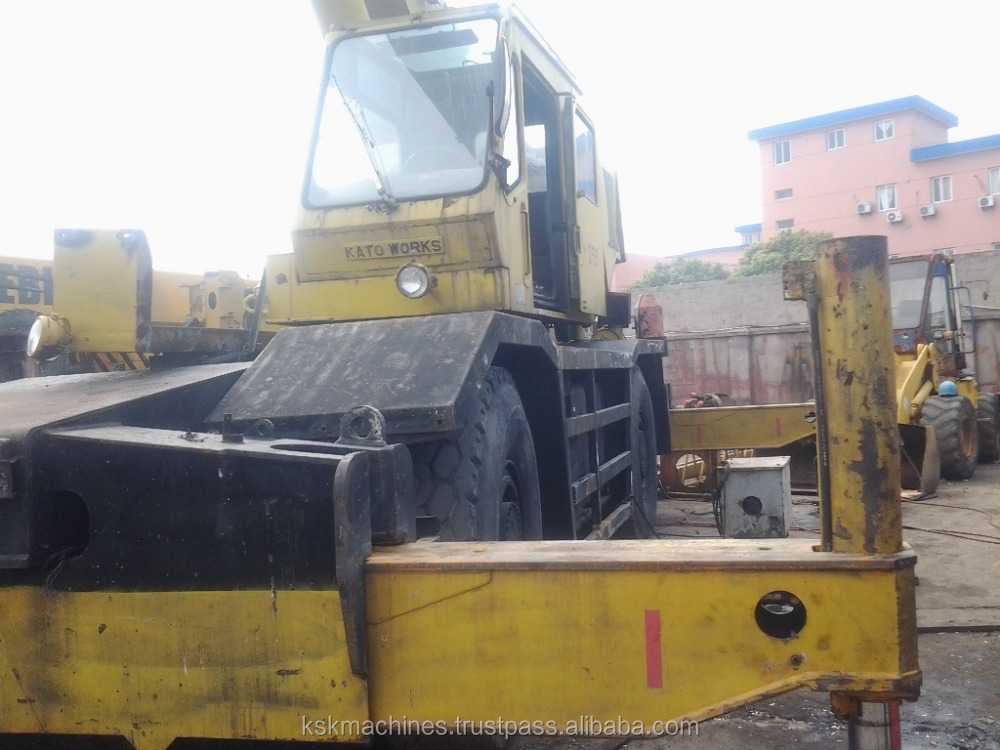 good quality and cheap price 50ton kato rough crane KR-500 for sale