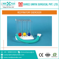 Respiratory lung exerciser 3 ball Incentive spirometer