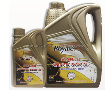 Gasoline Engine Oil (Synthetic) 5W40