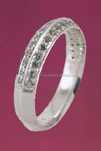 Swade 18ct White Gold Diamond EternityBands