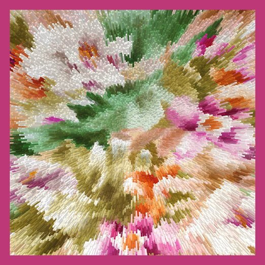 DIGITALLY PRINTED SILK SCARVES FROM INDIA