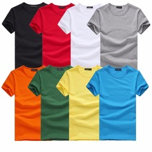 Cheap Price Plain Round Neck V Neck Polo T-shirts Ready Stock & Fresh Manufacturing