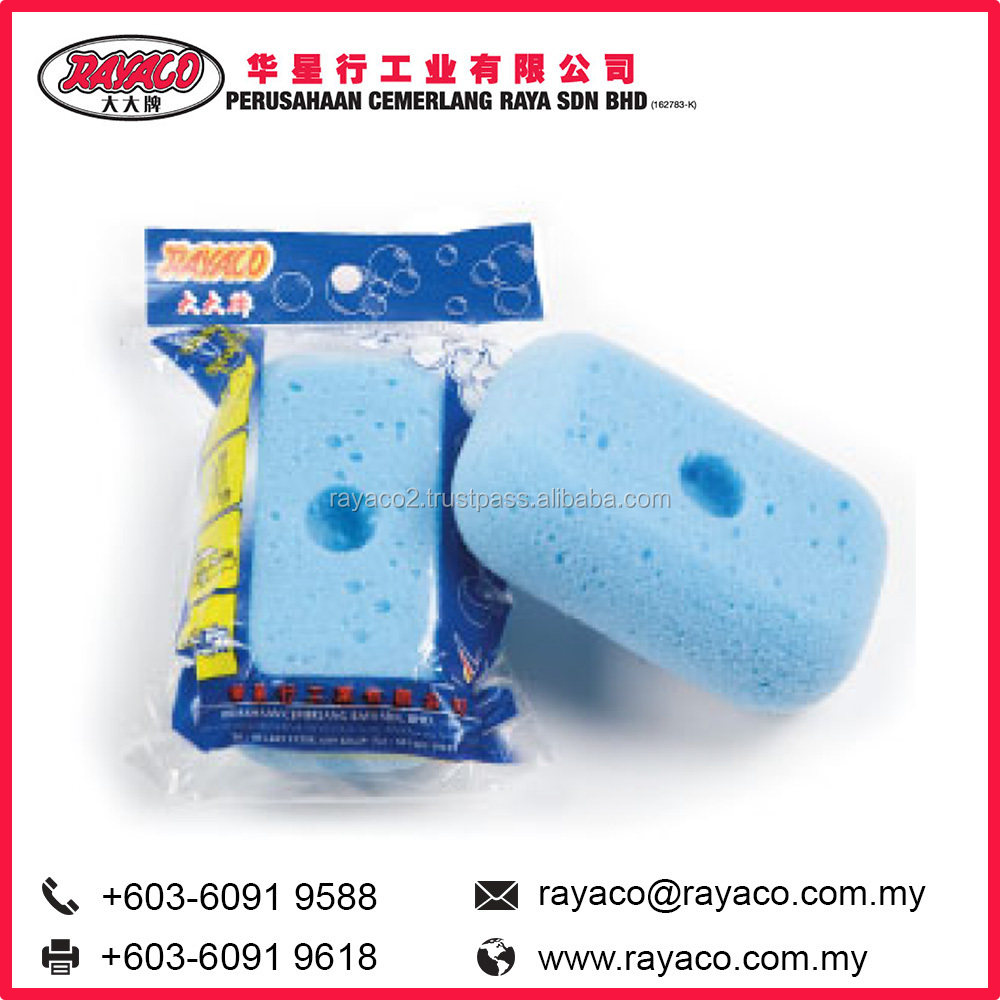 Rectangle Kitchen Cleaning Sponge with Hole