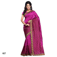 All Type Indian SareeEmbroidery Work Saree- Zoya Silk Blouse- Zoya Silk