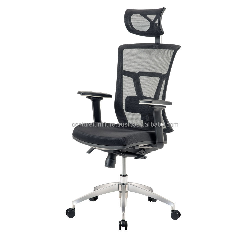 EM-207E Executive chair with multi adjustable and lumbar support