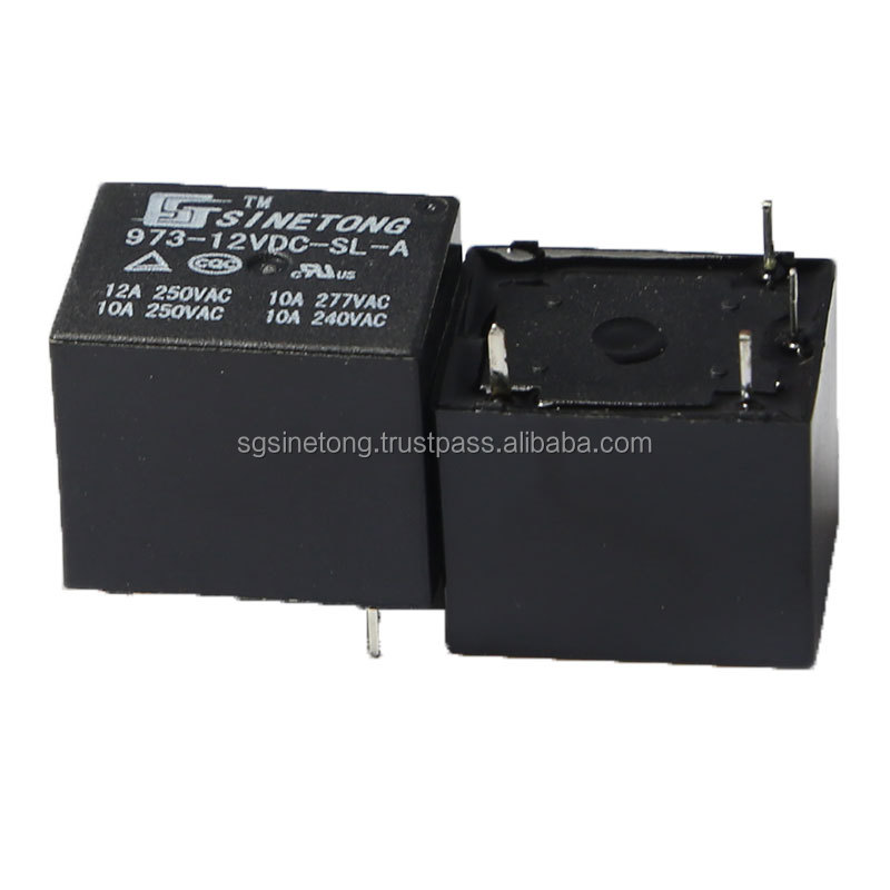 Sinetong 973 4 pin PCB 12V mini relay