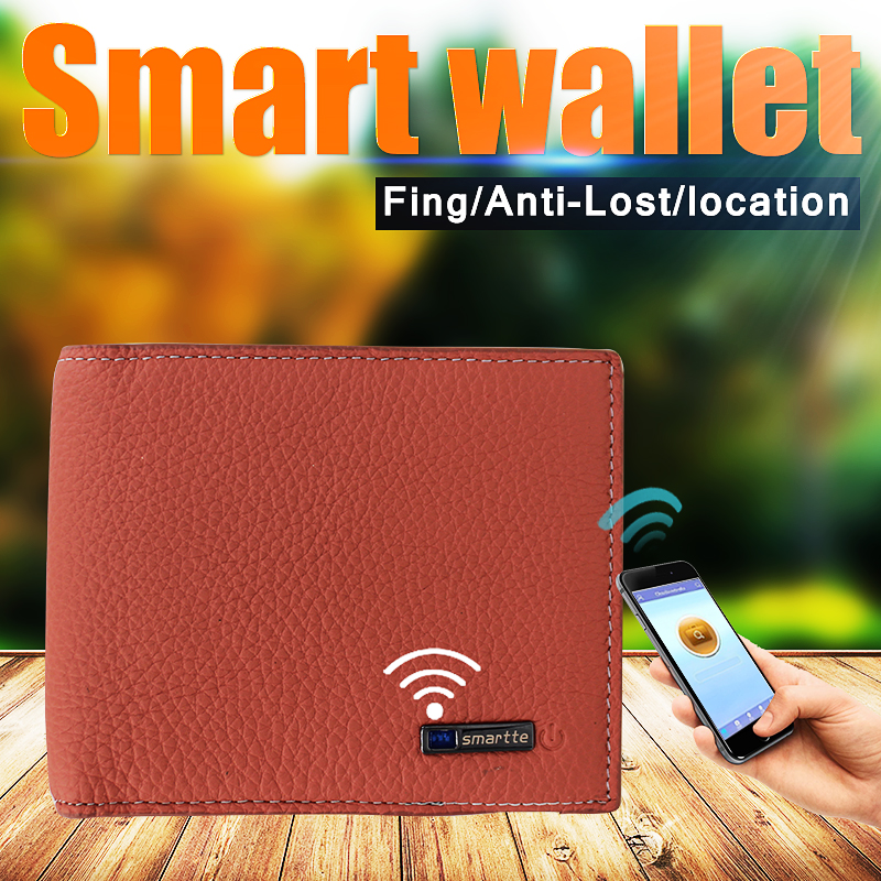 Customized Leather Wallet Women Ladies Hand Bag For Wholesale Anti-lost smart wallet