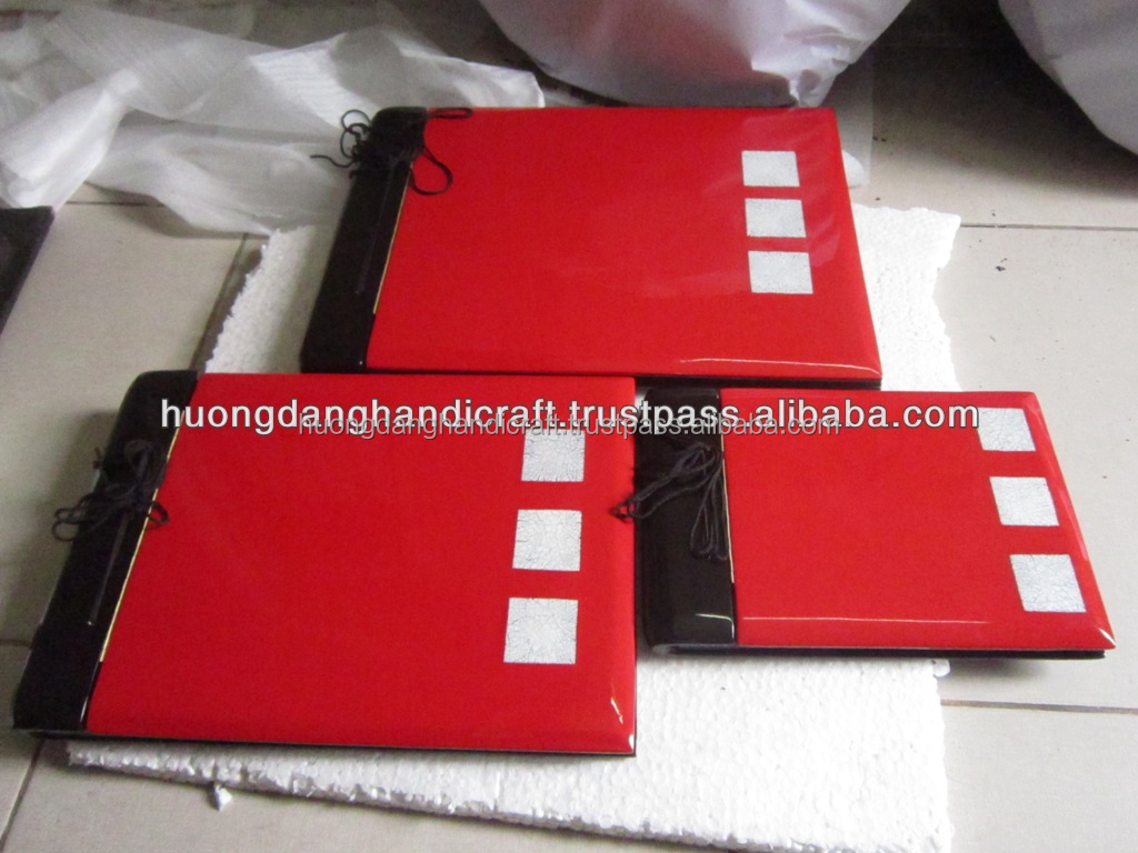 Craft lacquer wares, photo album cover, Vietnam supplier lacquer photo album