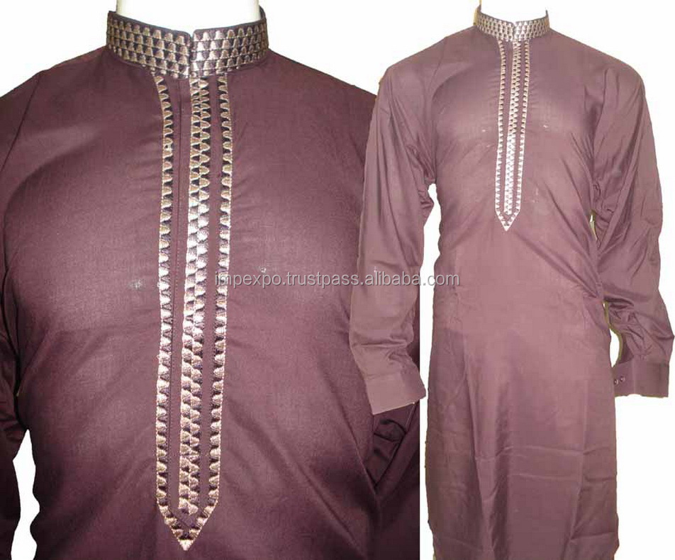 Shalwar kameez design 2016 for men / men embroidered salwar kameez