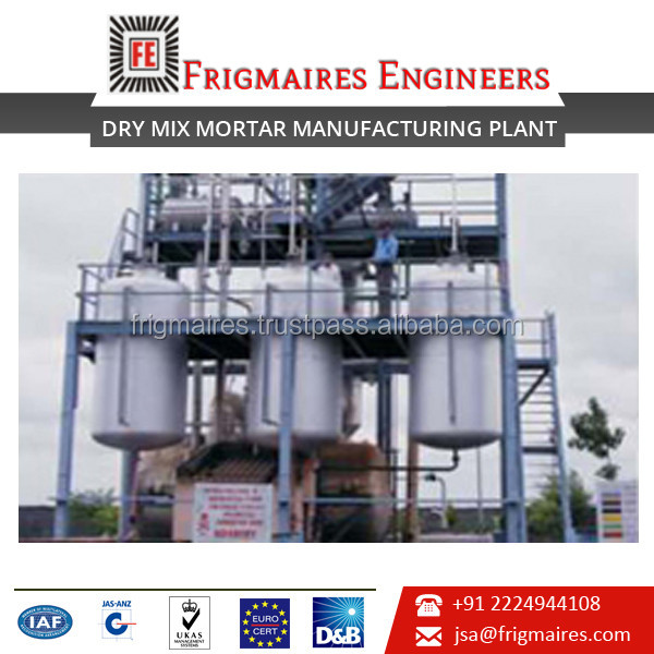 Trusted Supplier Selling Dry Mix Mortar Mixing Plant at Really Attractive Rate