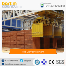 Automatic Red Clay Brick Plant with Large Production Capacity