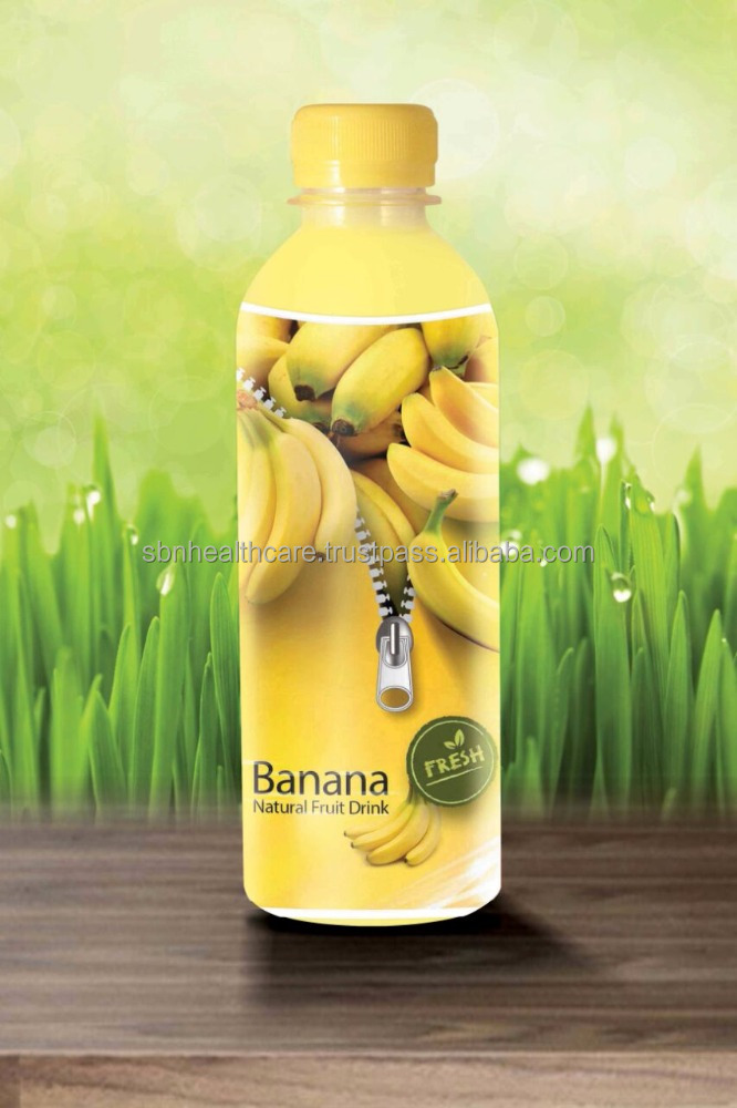 Fruit Juice / 100% Natural Banana Extracts from Malaysia ( OEM )