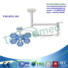 TMI-HEX- 126+126 Medical operation room floor surgical lamps clinic