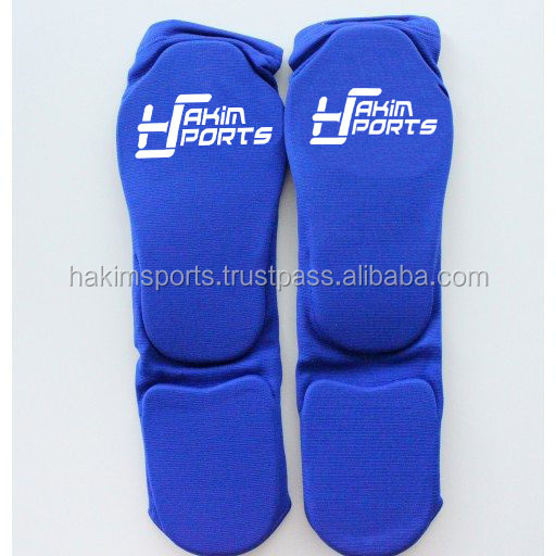 Shin Instep, Shin Guard, Shin pad Quality padded and elasticated material.