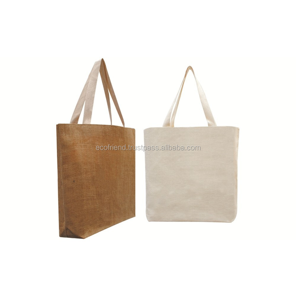 50pcs Jute Carrier Tote Bag (B0127)