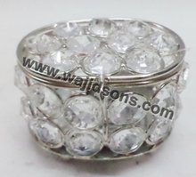 small crystal box/high brightness decorations for weddings crystal box