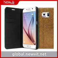 Newvit cover case for Galaxy S6 / Built-in card slots for ID or credit cards