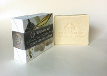 Natural soap, for cracked heels DONKEY MILK & SILK, EXTRA VIRGIN OLIVE OIL